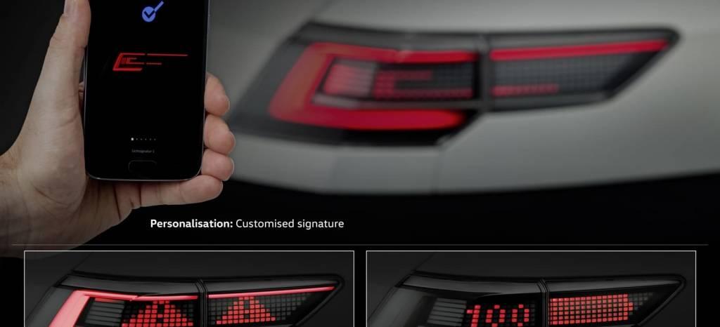 Las luces de tu próximo Volkswagen: tan personalizables y capaces como un smartphone