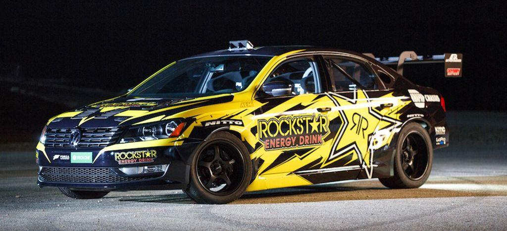 Terrorífico: así es el Volkswagen Passat de 900 CV y tracción trasera de Tanner Foust