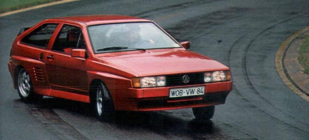 Volkswagen fabricó dos Scirocco con dos motores, y a punto estuvo de producirlos en serie: esta es su historia