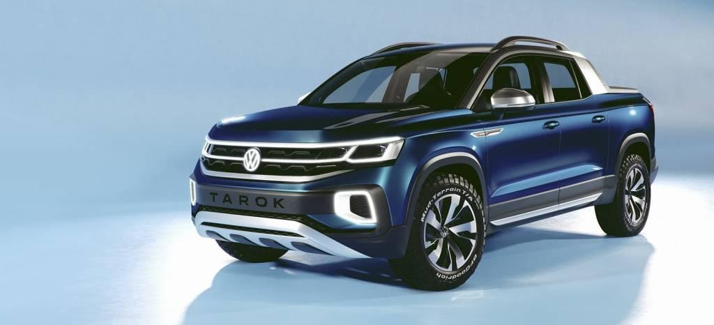Volkswagen Tarok Concept: una pick-up con aires SUV, la hermana pequeña del Amarok