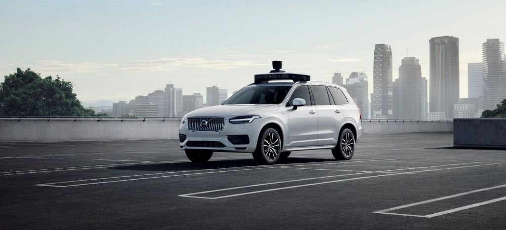 Volvo Cars And Uber Present Production Vehicle Ready For Self Driving thumbnail
