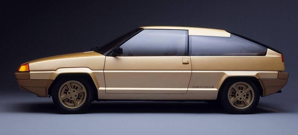 Volvo Tundra Concept (1979): no es una casualidad que sea tan parecido a un Citroën BX