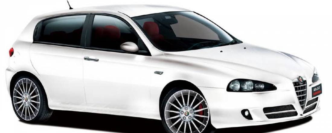 alfa romeo 147 white - photo #14