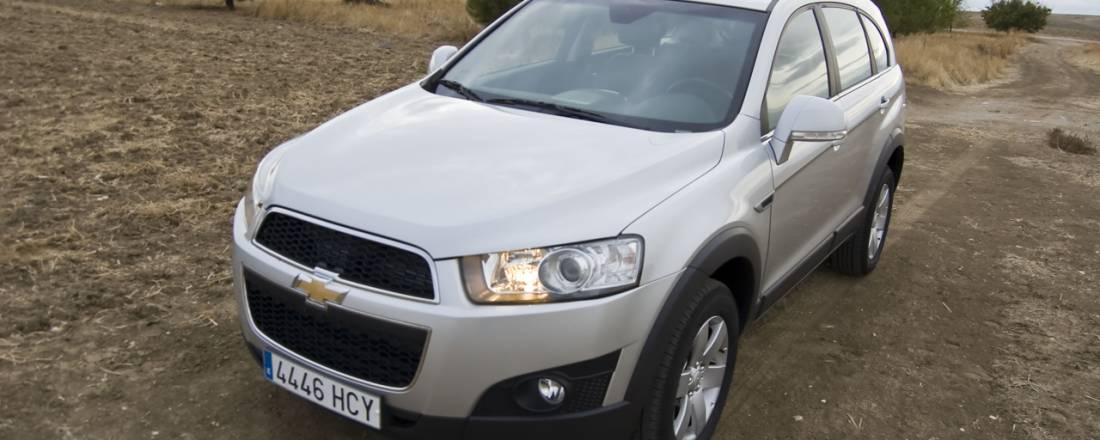 Chevrolet Captiva Precio Prueba Ficha Tcnica Interior Y Fotos