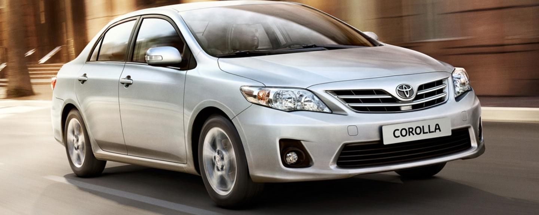 Toyota Corolla Sedán