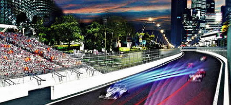 Circuito Singapur : Vuelta virtual al circuito de singapur diariomotor
