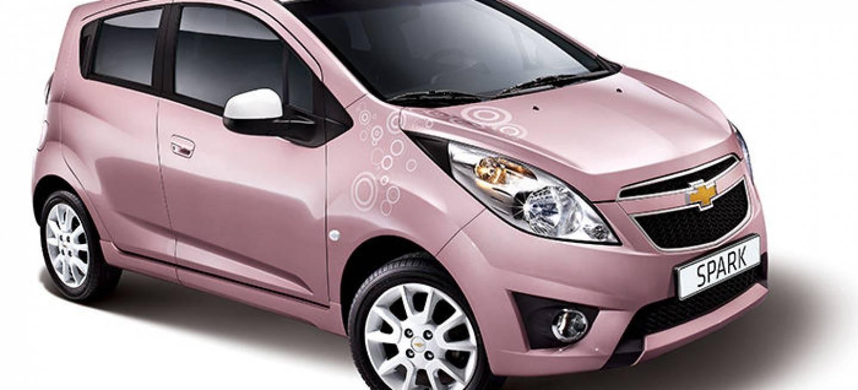 Pink Lady, el lado más femenino del Chevrolet Spark ...