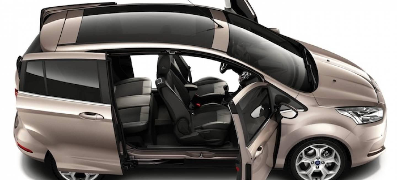 Ford b max vs opel meriva la batalla del peque o for Coches con puertas correderas