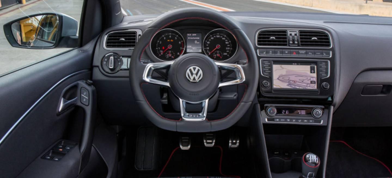 v deo del interior del nuevo volkswagen polo gti 2015 diariomotor. Black Bedroom Furniture Sets. Home Design Ideas