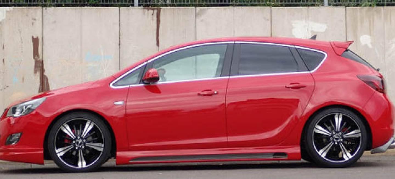 Senner pone a punto al astra 5 puertas con un nuevo kit est tico y m s caballos diariomotor - Opel astra 5 puertas ...