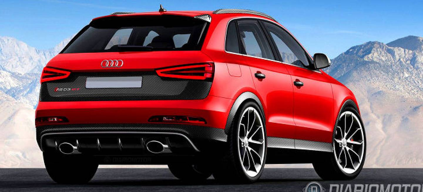 audi rs q3 gt imaginando una versi n a n m s extrema del suv deportivo diariomotor. Black Bedroom Furniture Sets. Home Design Ideas