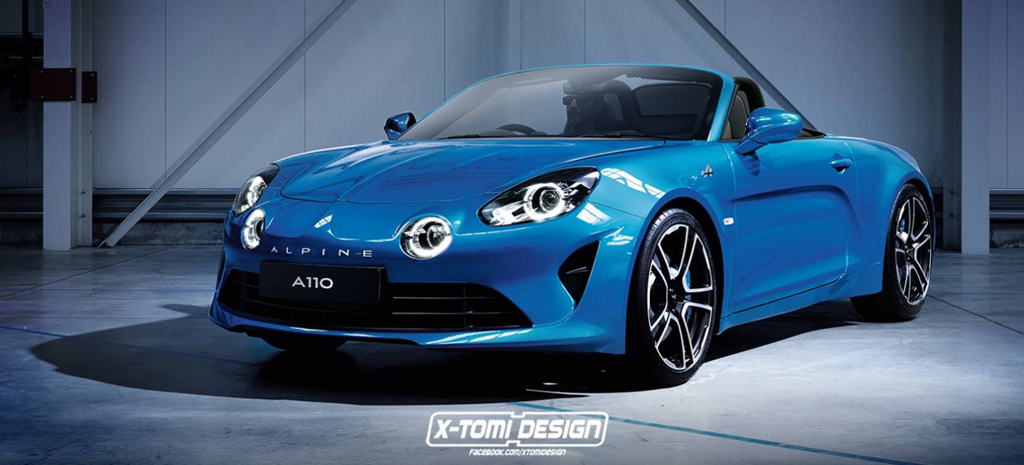 renault atr vete con un alpine a110 descapotable diariomotor. Black Bedroom Furniture Sets. Home Design Ideas