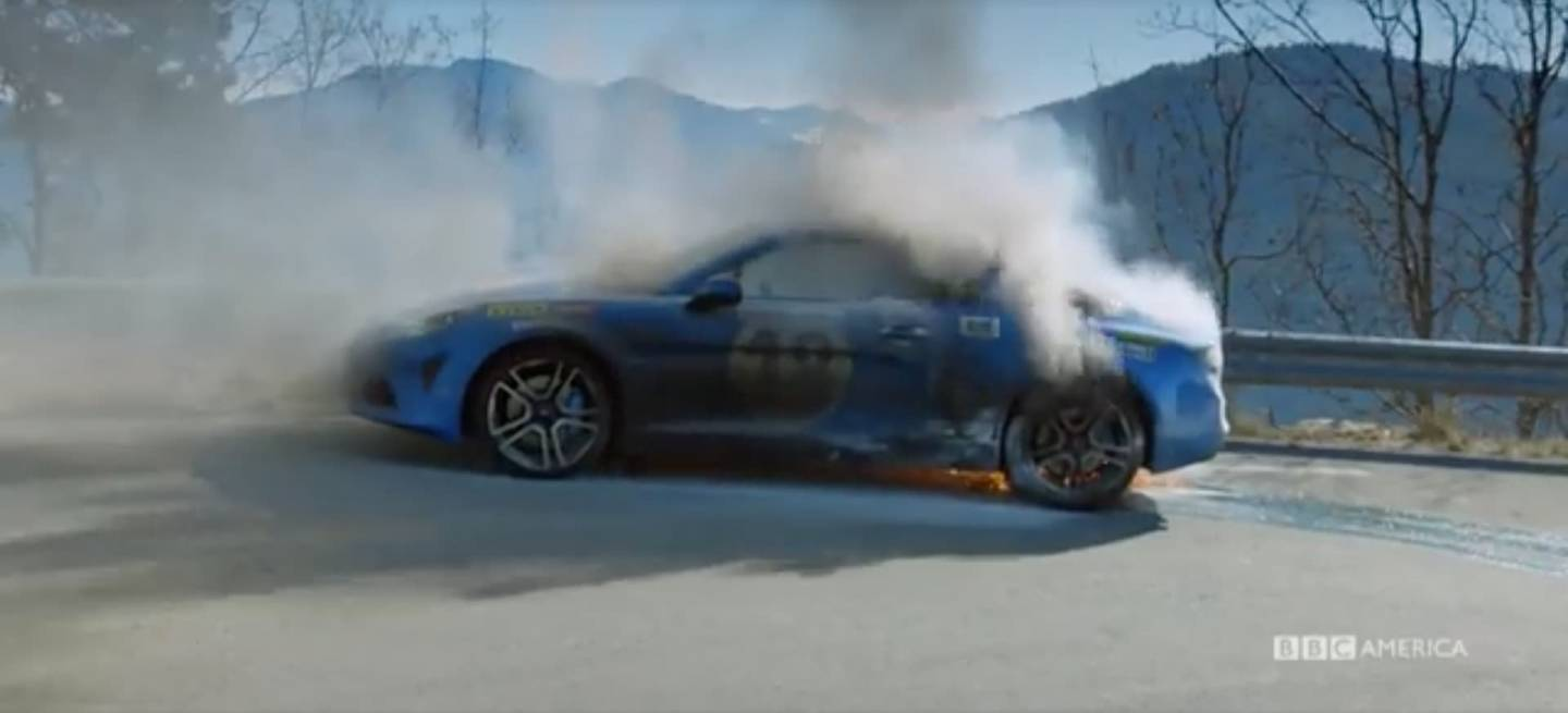 Alpine A110 Incendio