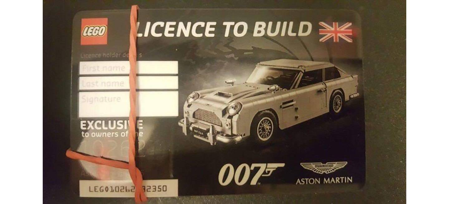 Aston Martin Db5 James Bond Lego Adelanto
