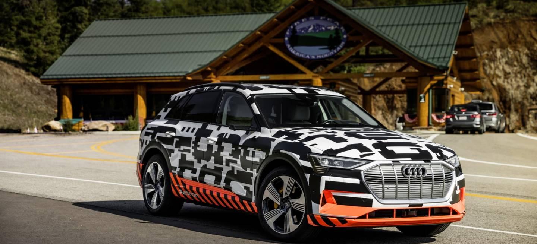 The Audi E Tron Prototype