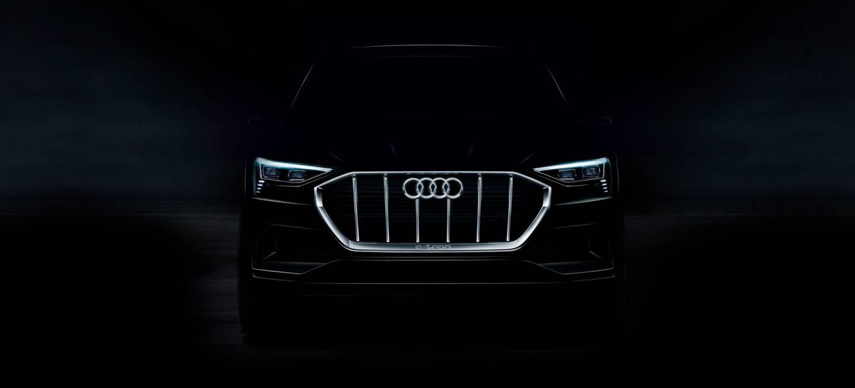 Audi E Tron Frontal