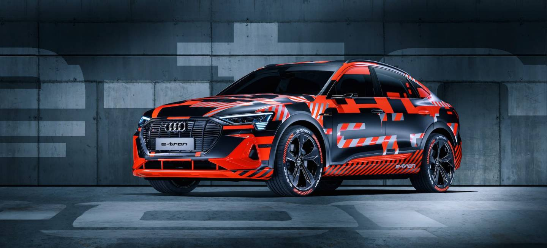 Audi E Tron Sportback Prototype