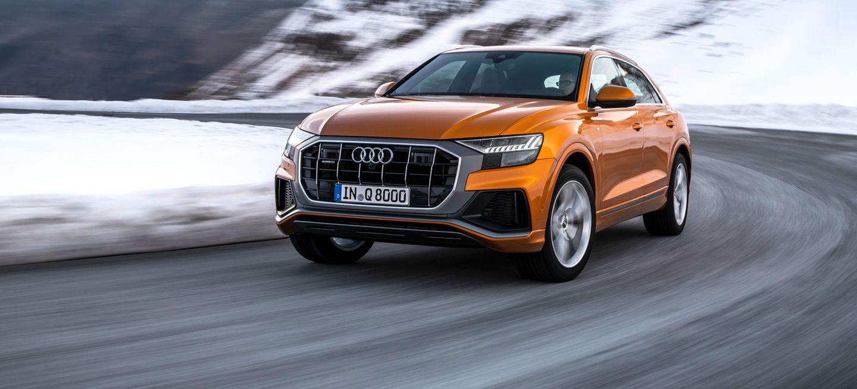 Audi Q8 2019 Naranja 02