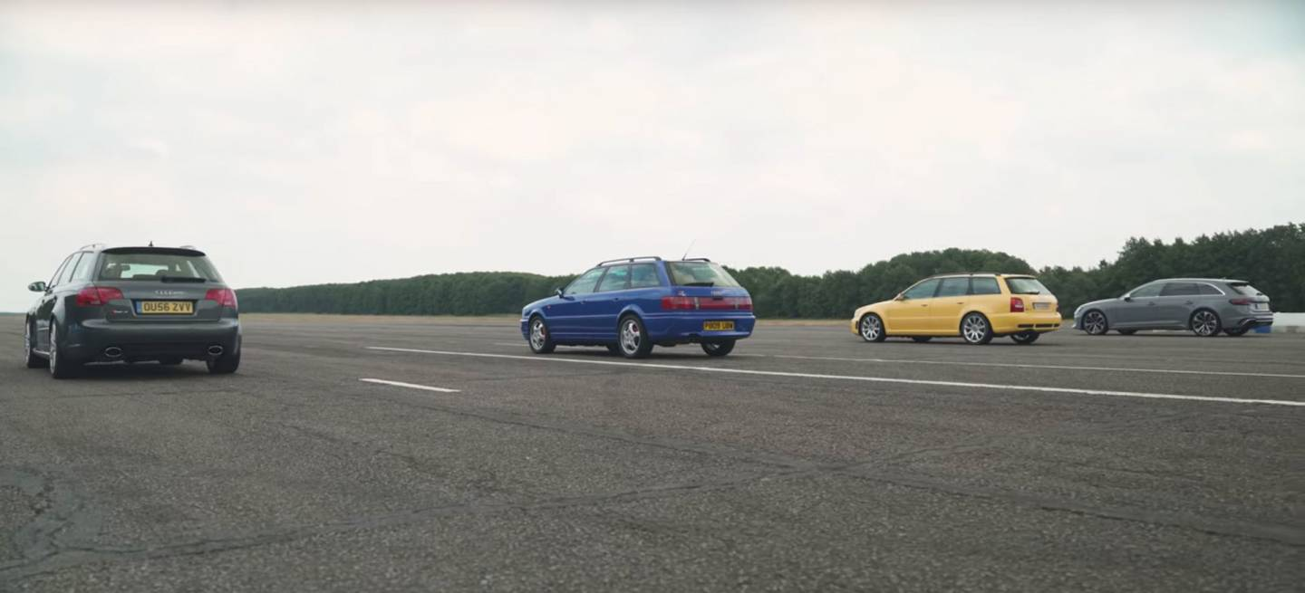 Audi Rs4 Evolucion Coches Deportivos Video