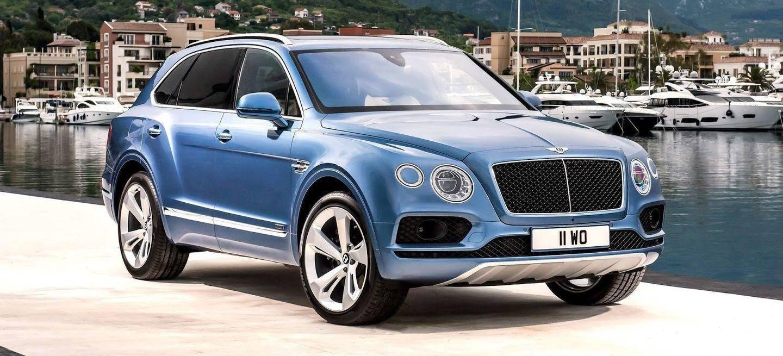 el SUV mas rapido es el Bentley Bentayga con 608cv