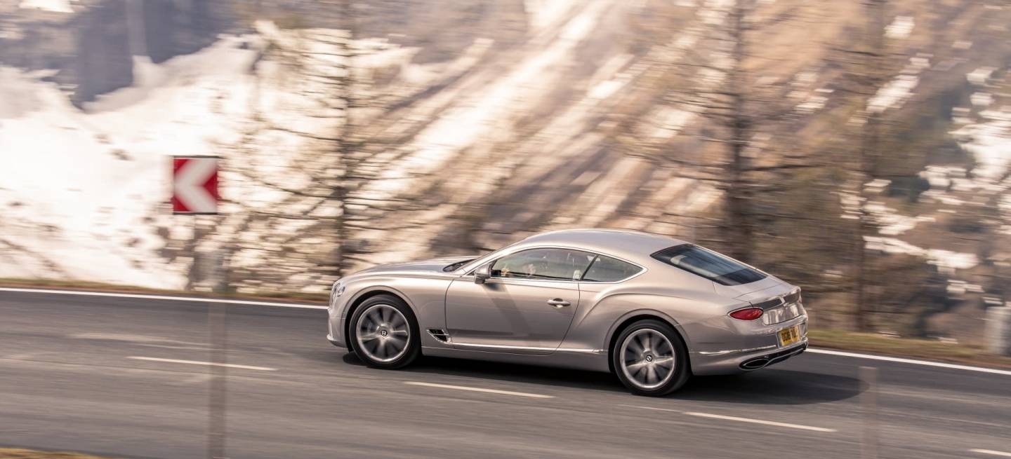 Bentley Continental Gt Extreme Silver 13