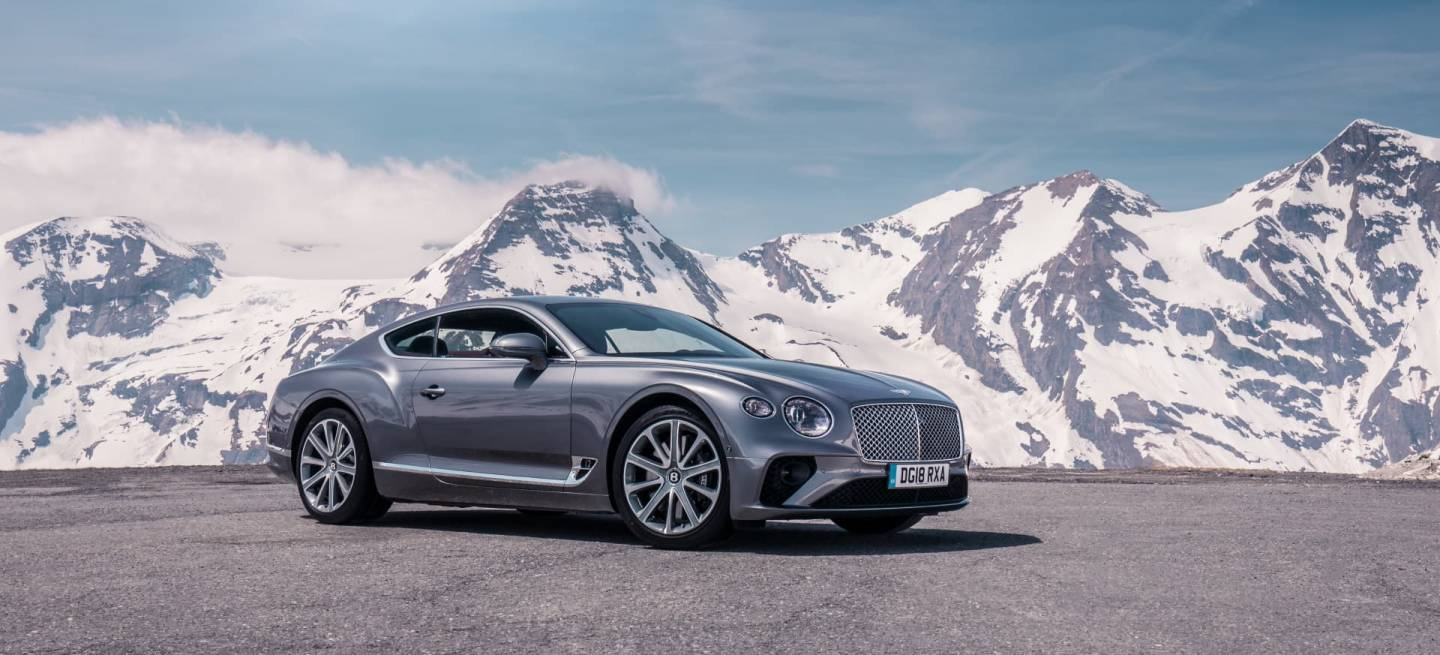 Bentley Continental Gt Tungsten 9
