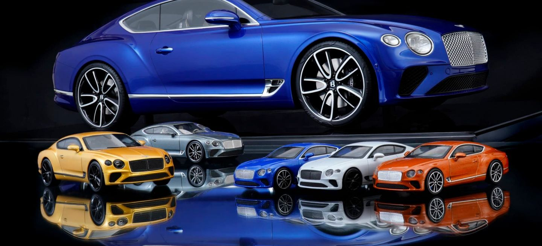 Bentley Miniaturas Continental Gt 03
