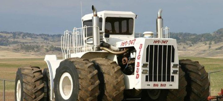 Big Bud 747 >> Big Bud 16V-747, el tractor agrícola más grande del mundo ...