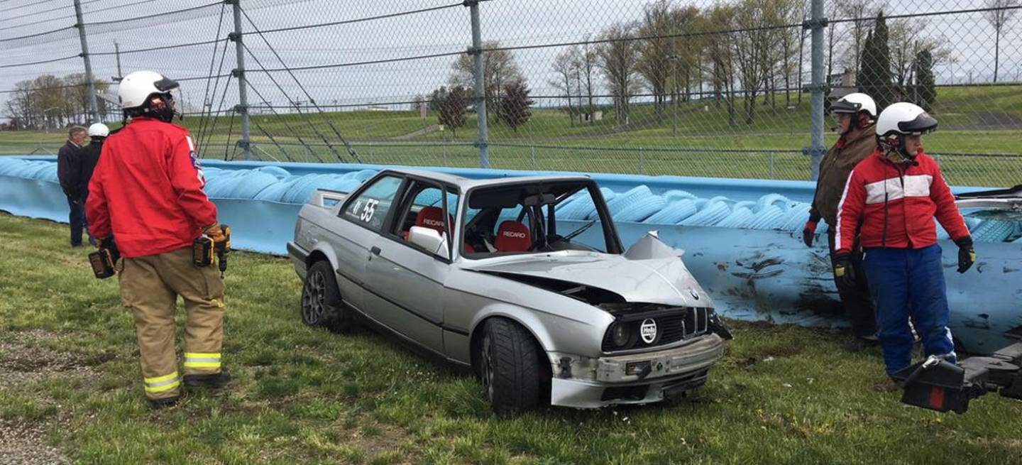 Bmw M3 Accidente