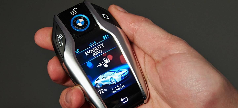 BMW y su llave inteligente