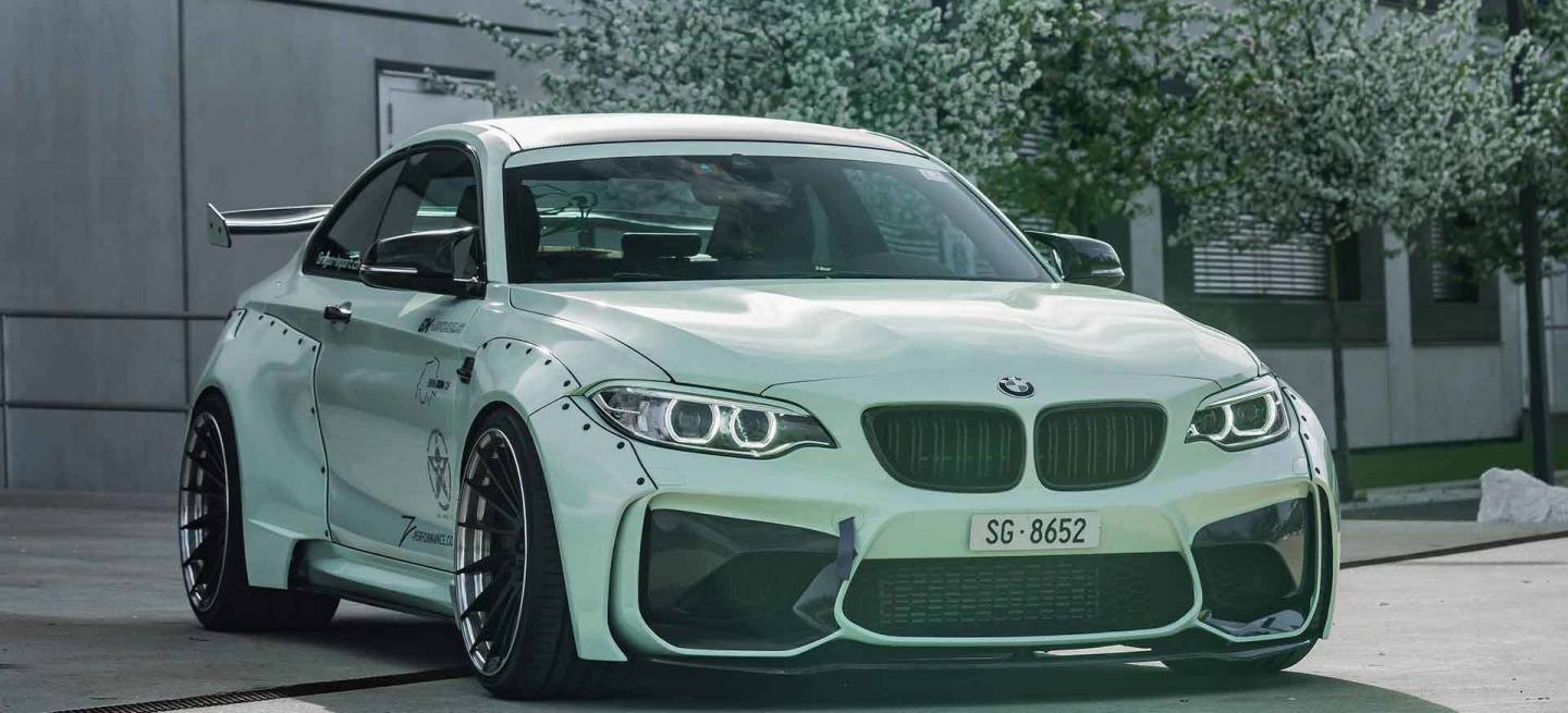 Bmw M2 Rocket Bunny 2
