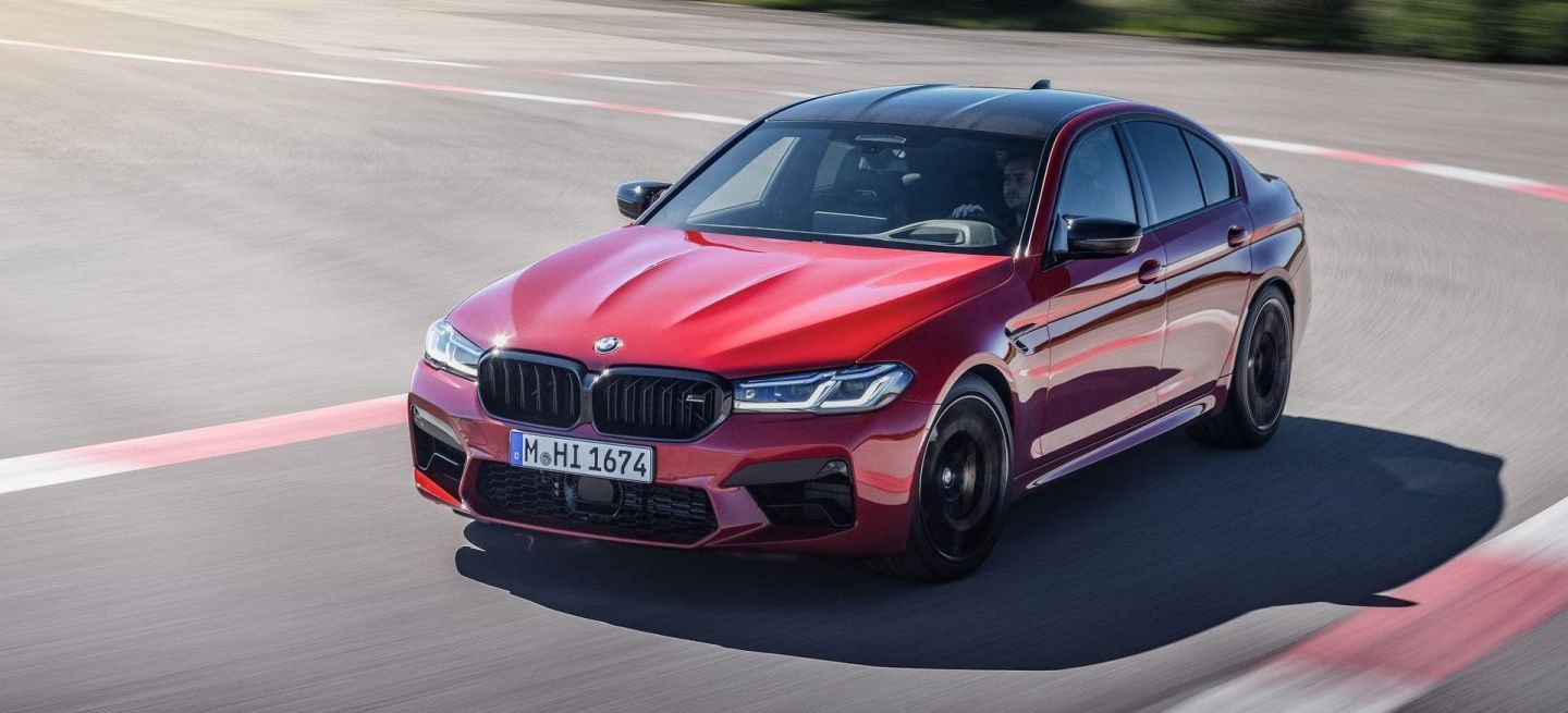 Bmw M5 Competition 2021 P