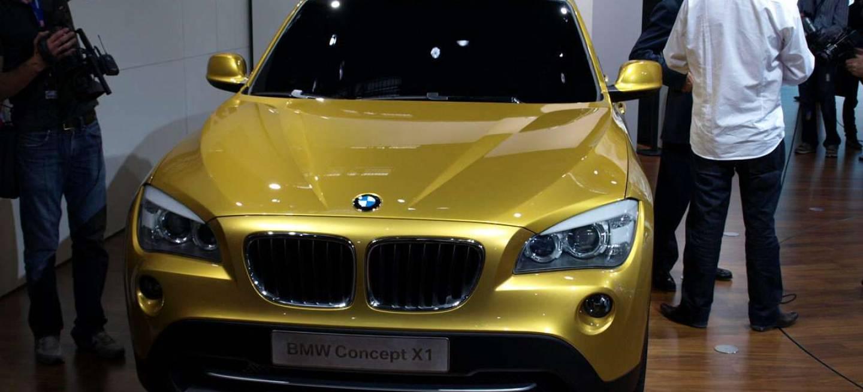 BMW X1 Concept en París 2008, sabor agridulce - Diariomotor