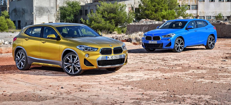 Bmw X2 Amarillo Azul 2019 Coches Mercedes