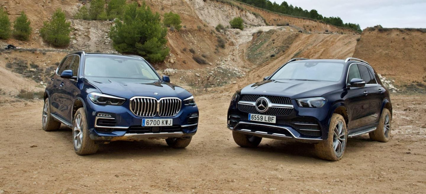 Bmw X5 Mercedes Gle