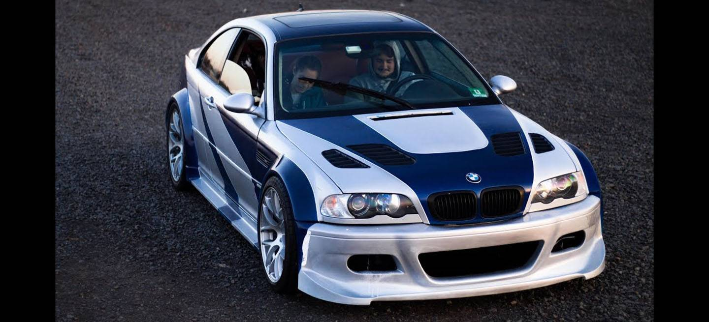 Bmw M3 Gtr Need For Speed Replica