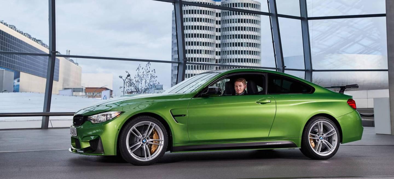 No es el coche de Hulk, es el nuevo BMW M4 de Marco Wittmann ...