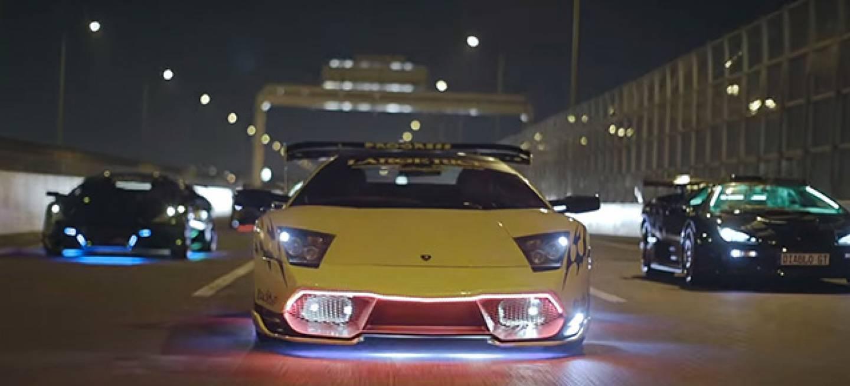 Miedo Y Asco En Japon Los Lamborghini Tuneados De Los Tipos Malos
