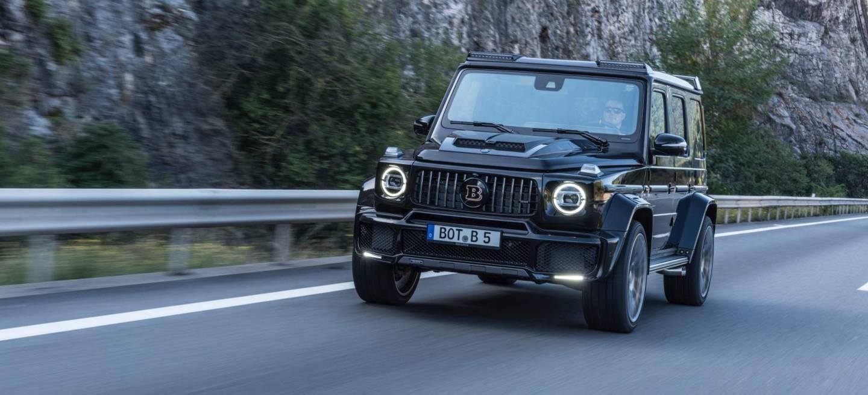 Brabus Mercedes Clase G Widestar P