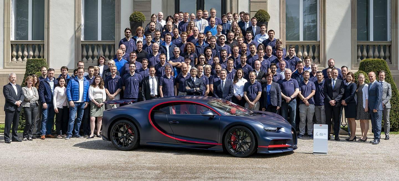 Bugatti Chiron 100