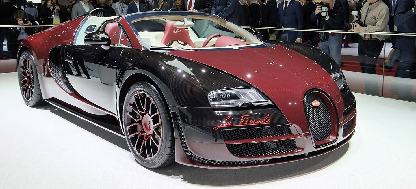 el bugatti veyron la finale impone en directo desde ginebra diariomotor. Black Bedroom Furniture Sets. Home Design Ideas