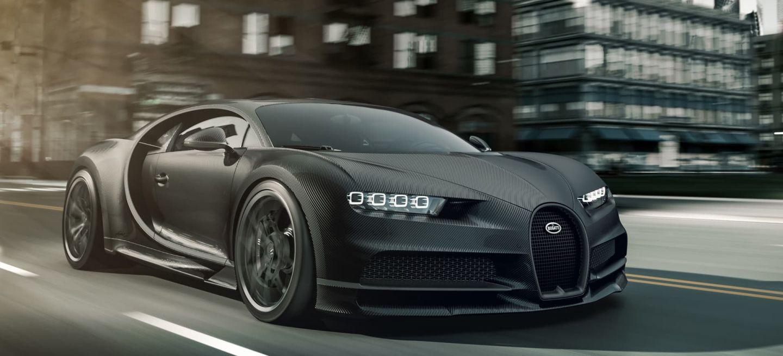 Bugatti Chiron Noir Matt