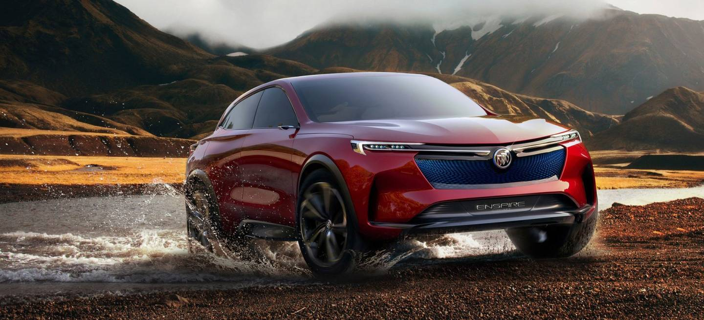 The 2018 Buick Enspire All Electric Concept Suv