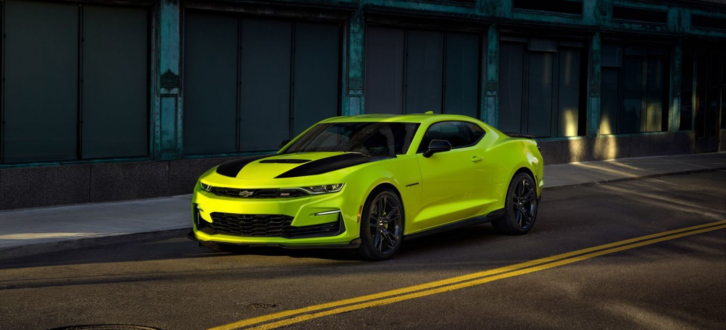 The 2019 Camaro Ss Will Be Offered In The New Shock Exterior Sta