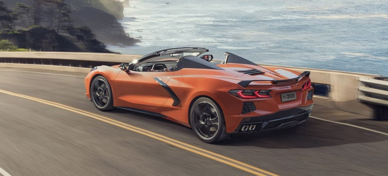 Chevrolet Corvette Convertible 2020 1019 002