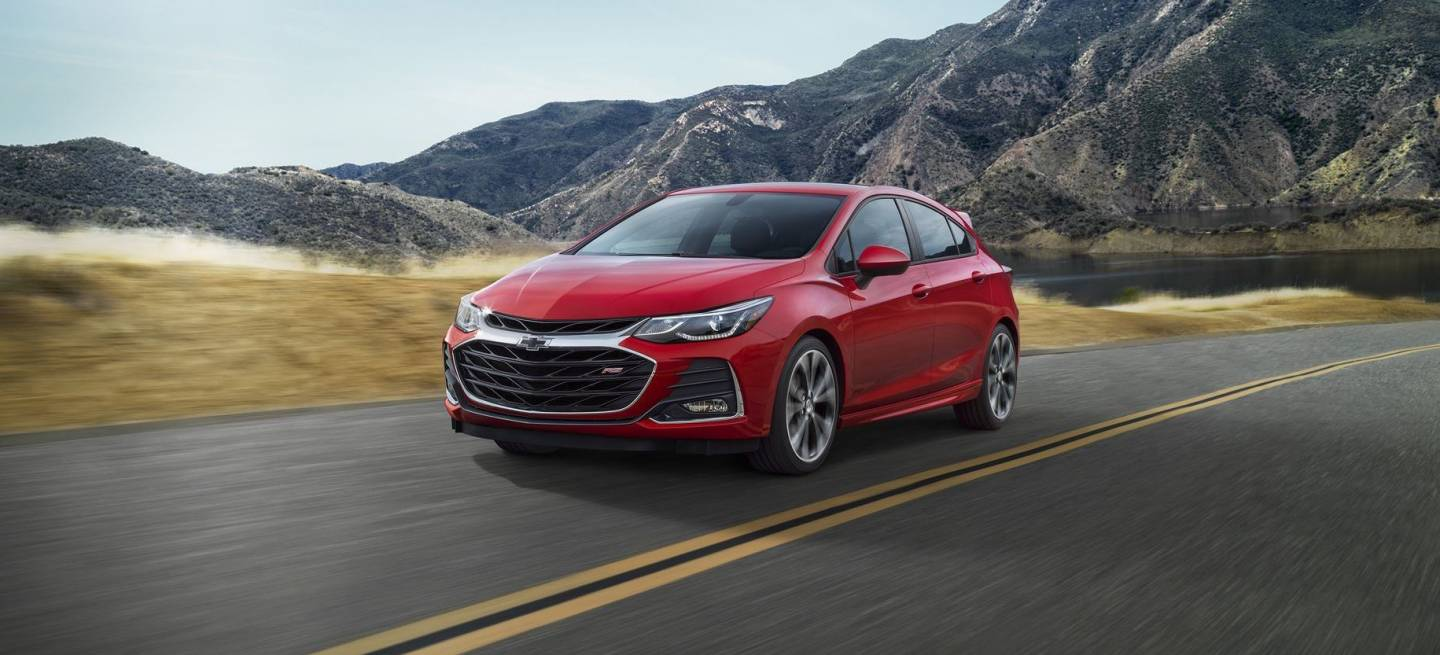 2019 Cruze Hatch Rs' Front Fascia And Grille Is All New.