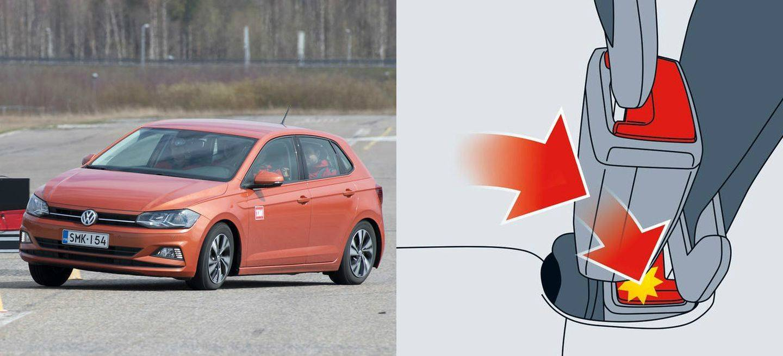 Cinturon Volkswagen Seat