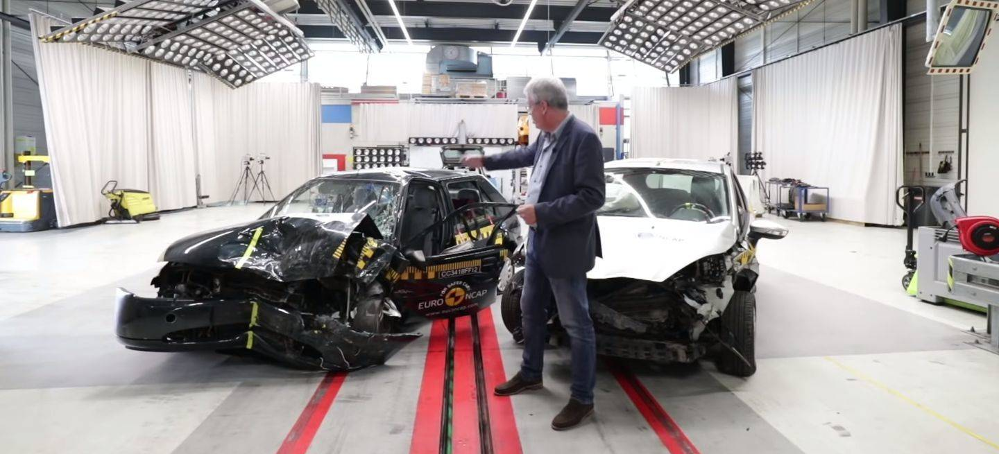 Crash Test Fiesta Ncap