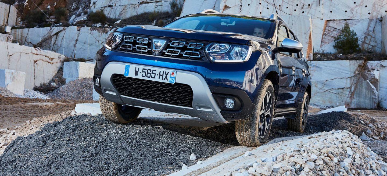 Dacia Duster 2019 Azul 4x4 Frontal