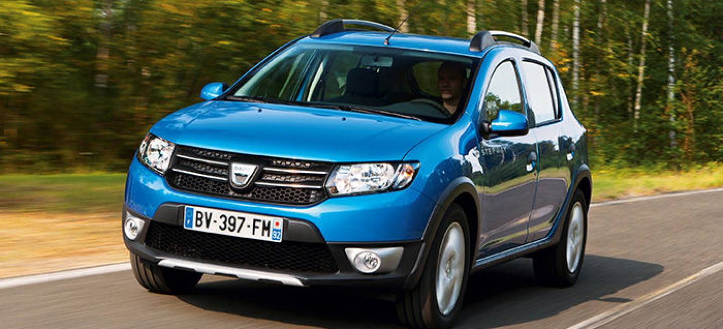 dacia sandero stepway 2013 el utilitario campero se renueva diariomotor. Black Bedroom Furniture Sets. Home Design Ideas